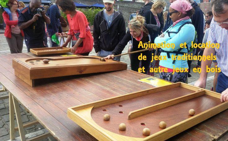 Une Somme de Jeux Location de jeux traditionnels en bois et jeux picards