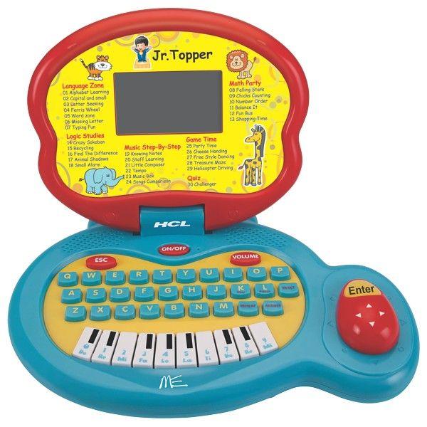 Buy HCL ME junior topper l1-30 kids learning laptop online ...
