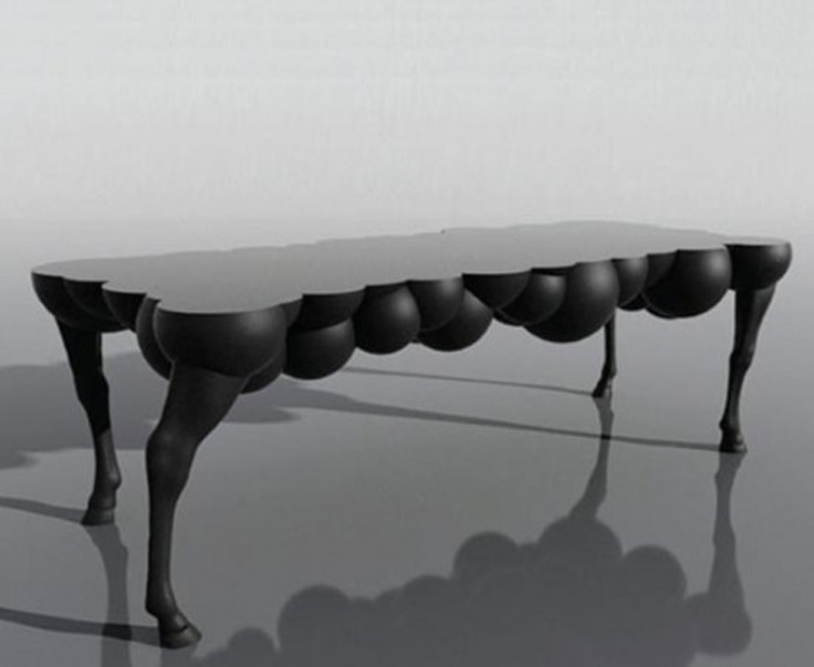 Mad Horse Table By Samuel David Ben Shalom.I Do Not Know If I