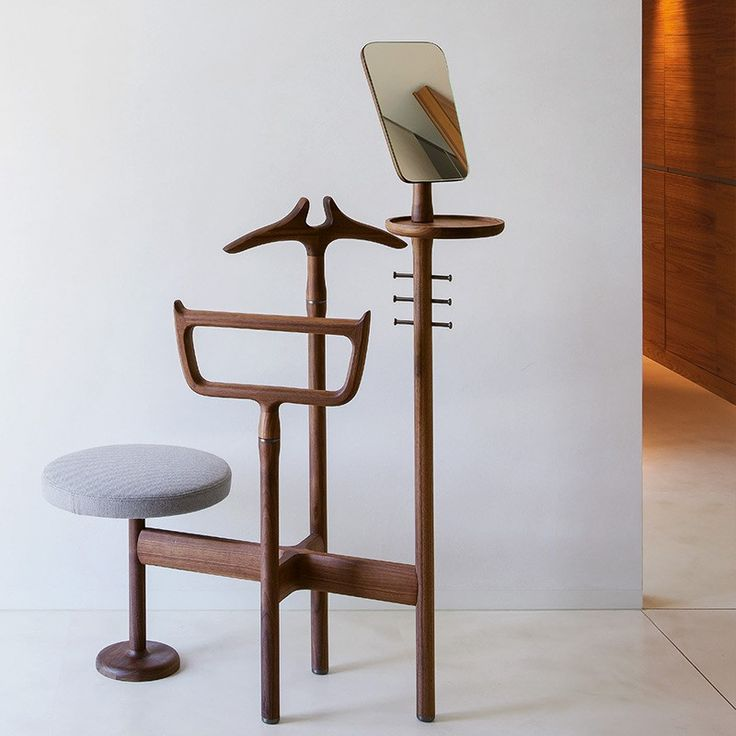 porada sam valet stand | fabric or leather