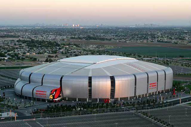 university of phoenix stadium | University of Phoenix Stadium (formerly Cardinals Stadium) in Glendale ...