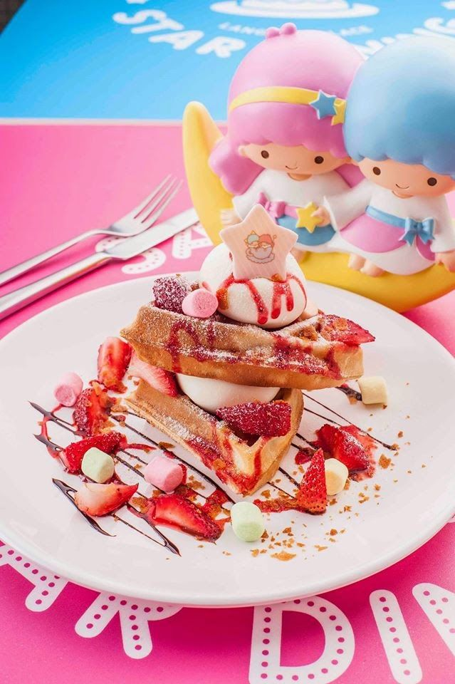 【2014.09】【Little Twin Stars Pop-up Cafe】LANGHAM PLACE SANRIO STAR DINING ★Little Twin Stars★