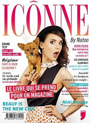 •*¨*• Mon avis sur Icônne de Nathalie Odzierejko •*¨*•  Un magazine à ne pas rater ^^