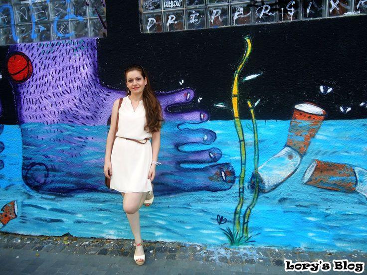 OOTD: Rochia May din voal