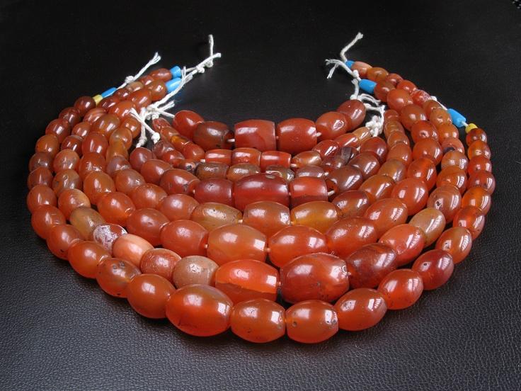 *!* Antique Mizoram carnelian beads *!*  Used by Naga and Pyu ethnic groups.