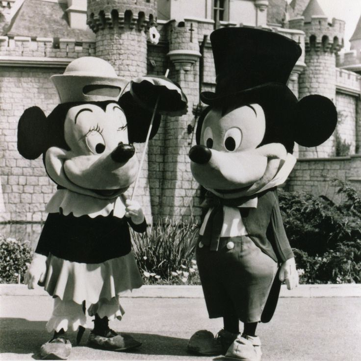 Mickey & Minnie mouse 1961.