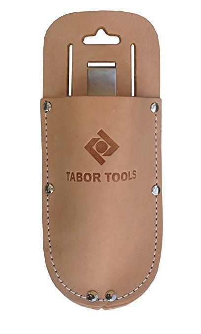 Leather Holster for Pruning Shears, Great Gift Idea! by Tabor Tools
