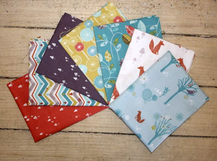Wildwoods Fat Quarter Pack by SewPiecefully on Etsy
