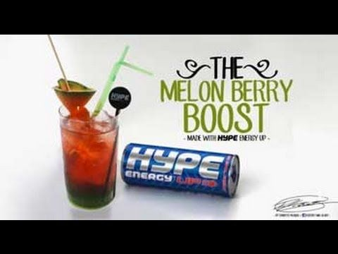 Hype Energy® Drinks | Melon Berry Boost