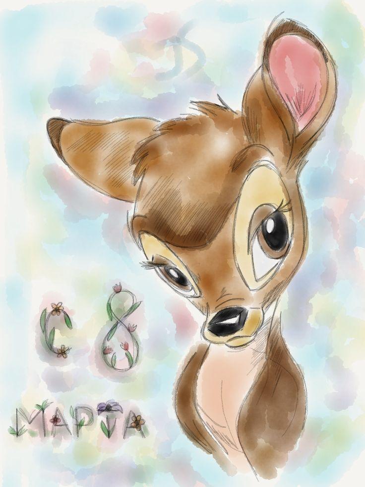 Bambi #bambi #disney #sketch #drawing