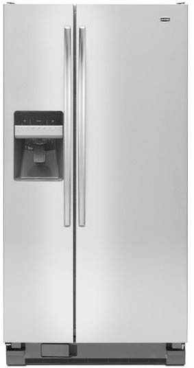 Maytag MSF22D4XAM 22.0 Cu. Ft. Stainless Steel Side-By-Side Refrigerator  on sale $1183. on 3/4/14