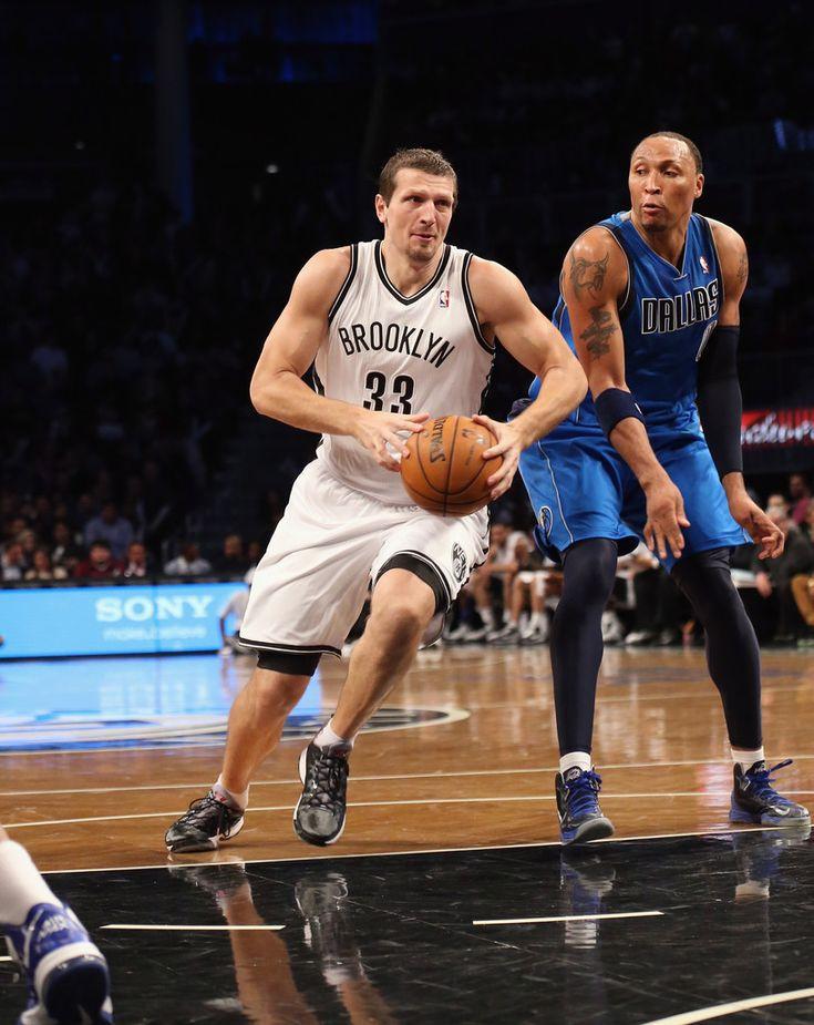 Mirza Teletovic - Dallas Mavericks v Brooklyn Nets