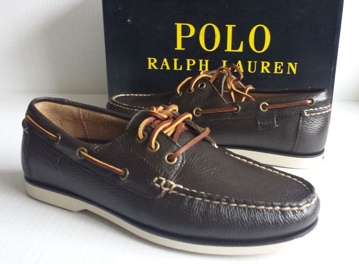 Ralph Lauren Casual Leather Shoes Brown