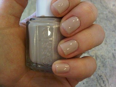 """Essie """"Sand Tropez"""" - depending on your skin tone, this is a lovely nude color"""