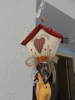 Lá Na Má Artes: Casinha com Passarinho.