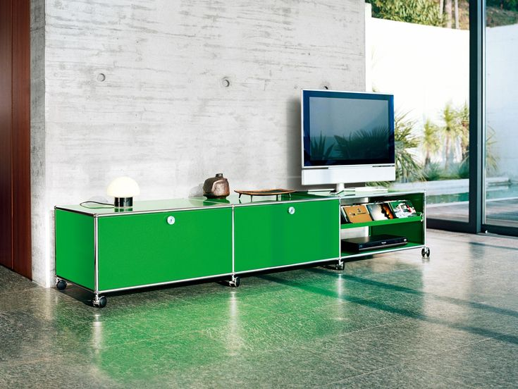 USM Media unit in green
