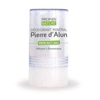 Pierre d'Alun 120 gr - Déodorant stick Minéral 100% Naturel par Propos-Nature 5.90 € le stick