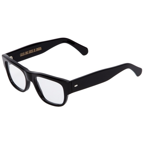 CUTLER & GROSS thick rim glasses ($475) ❤ liked on Polyvore