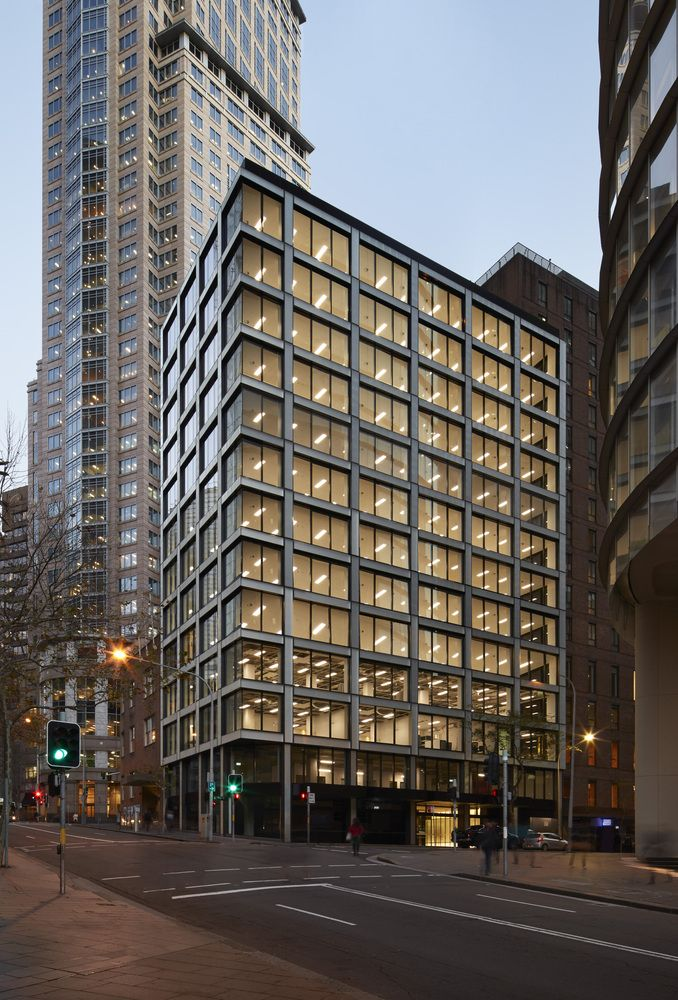 Gallery Of 2 Bligh Street Office Building Bates Smart 6 In 2020 Office Building Building Exterior Renovation