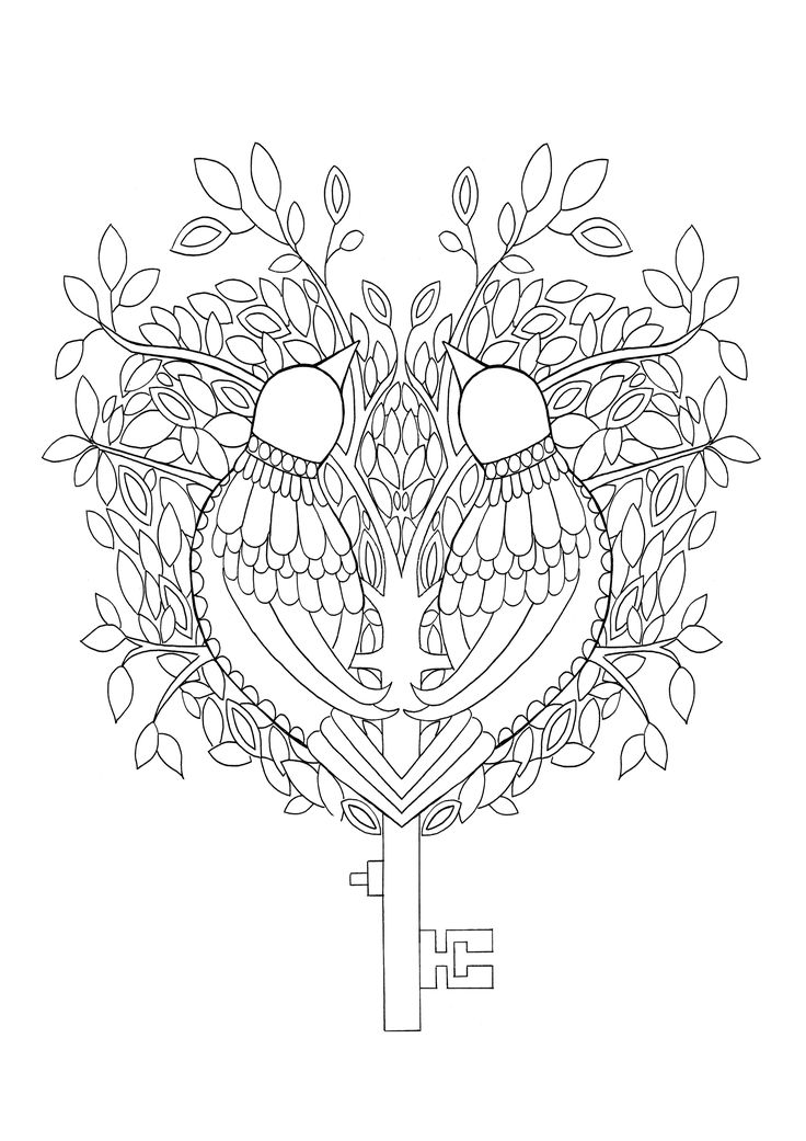 This Key Is A Page Out Of My Colouring Book Wings And Things Which Availible