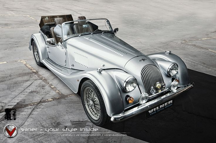A true work of art: the Morgan Plus 8 refined by Vilner