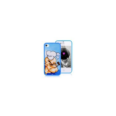 Cheap iPhone 4 Case - Popeye Back Cover