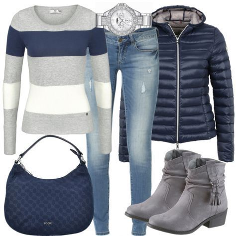 Fall Outfits: AutumnWalk at FrauenOutfits.de ___ #herbst #outfit #herbstoutfi …