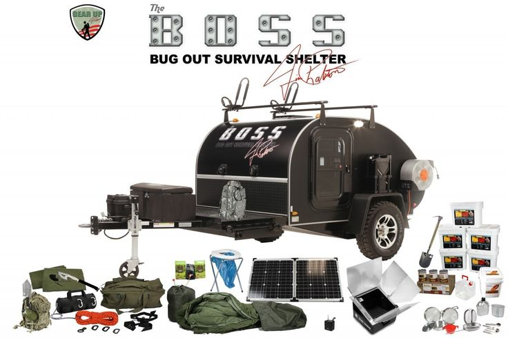 My Little Bug Out Shelter : Boss package composite