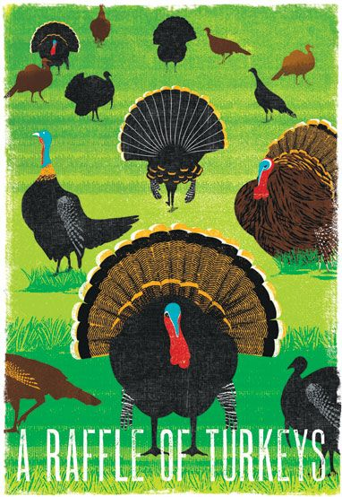 A raffle of turkeys: Collective Nouns