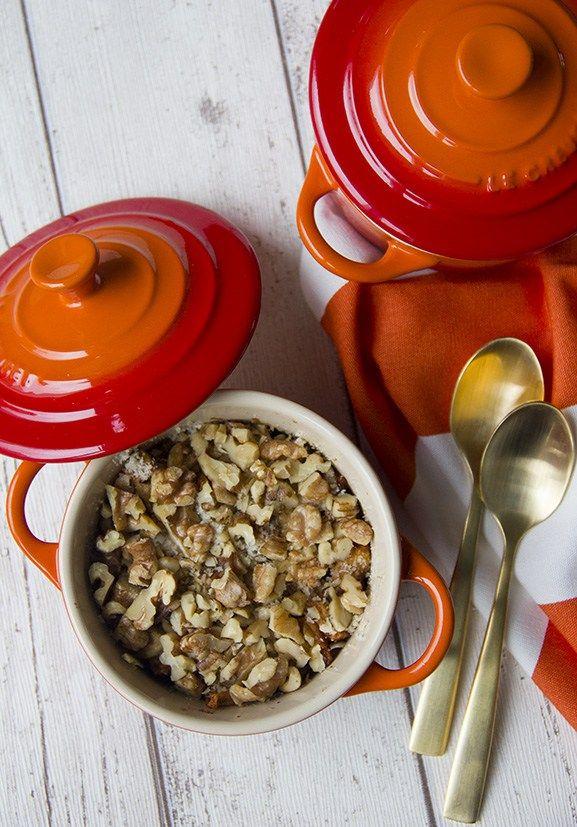 Gezond appeltaart ontbijtje