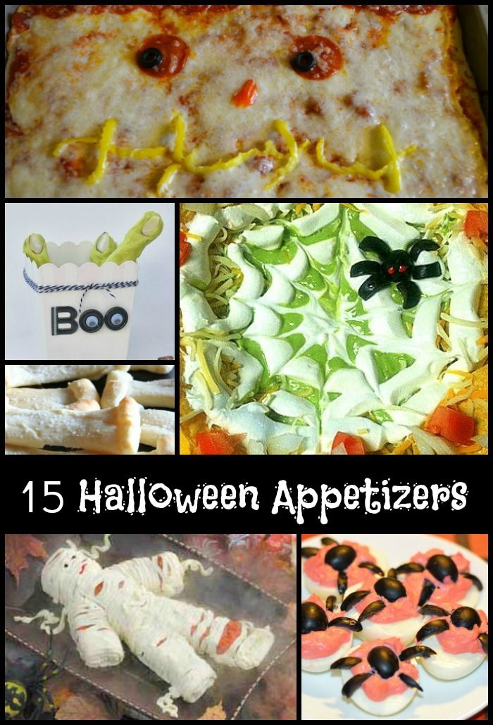 15 spooktacular halloween appetizers - Great Halloween Appetizers