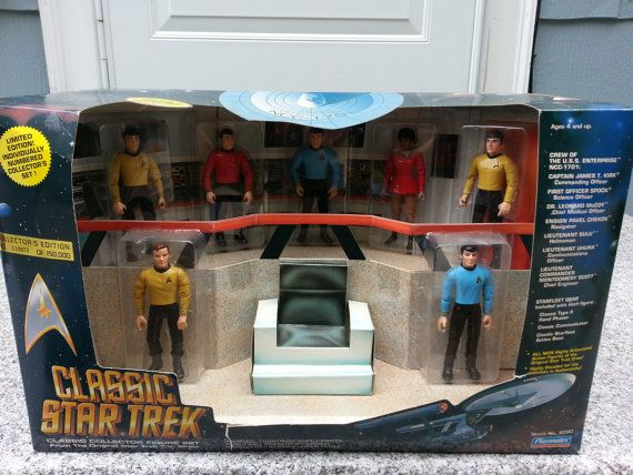 Vintage Playmates Classic Star Trek Collector by MyYiayiaHadThat