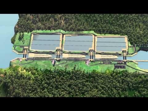 Progreso del Programa de Ampliación del Canal de Panamá - Abril 2013