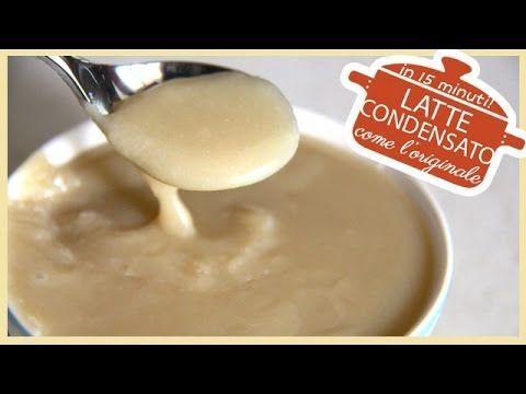 Latte Condensato in 15 minuti, come l'originale / Condensed Milk - YouTube