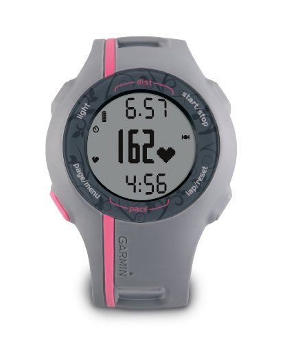 Garmin Forerunner 110 GPS-Enabled Sport Watch with Heart Rate Monitor (Pink) $191.73