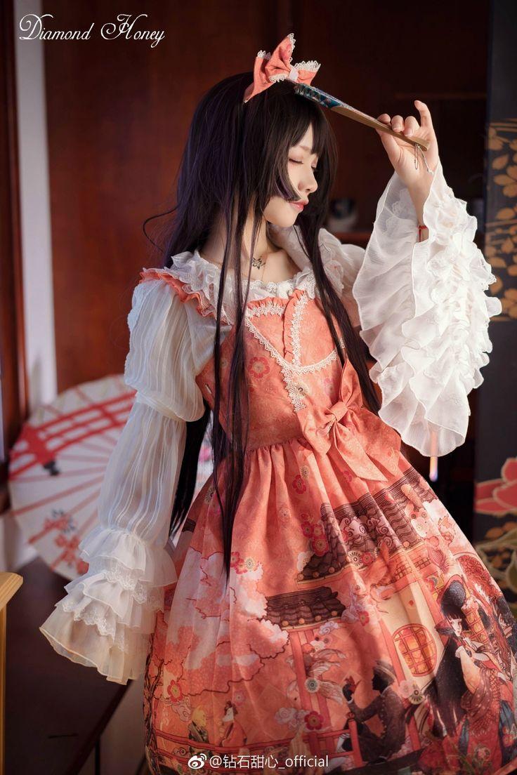 Pin by ily zhang on Lolita   Lolita fashion, Kimono ...