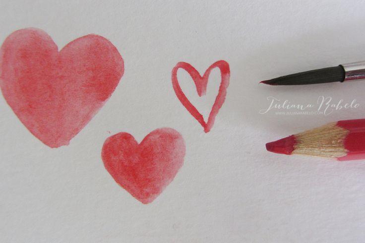 Lápis de cor aquareláveis - Juliana Rabelo
