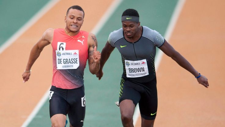 The Canadian Press     		New Brown bounces back with fastest time in semi after false start in 100m on Friday  					The Canadian Press 			Posted: Jul 08, 2017 2:09 PM ET 			Last Updated: Jul 08, 2017 2:09 PM ET      				  Andre De Grasse takes national 100m title 1:25    				  Crystal Emmanuel... - #200M, #Brown, #Canadian, #CBC, #Championships, #De, #Grasse, #Qualifiers, #Sports, #Top, #Track, #World_News
