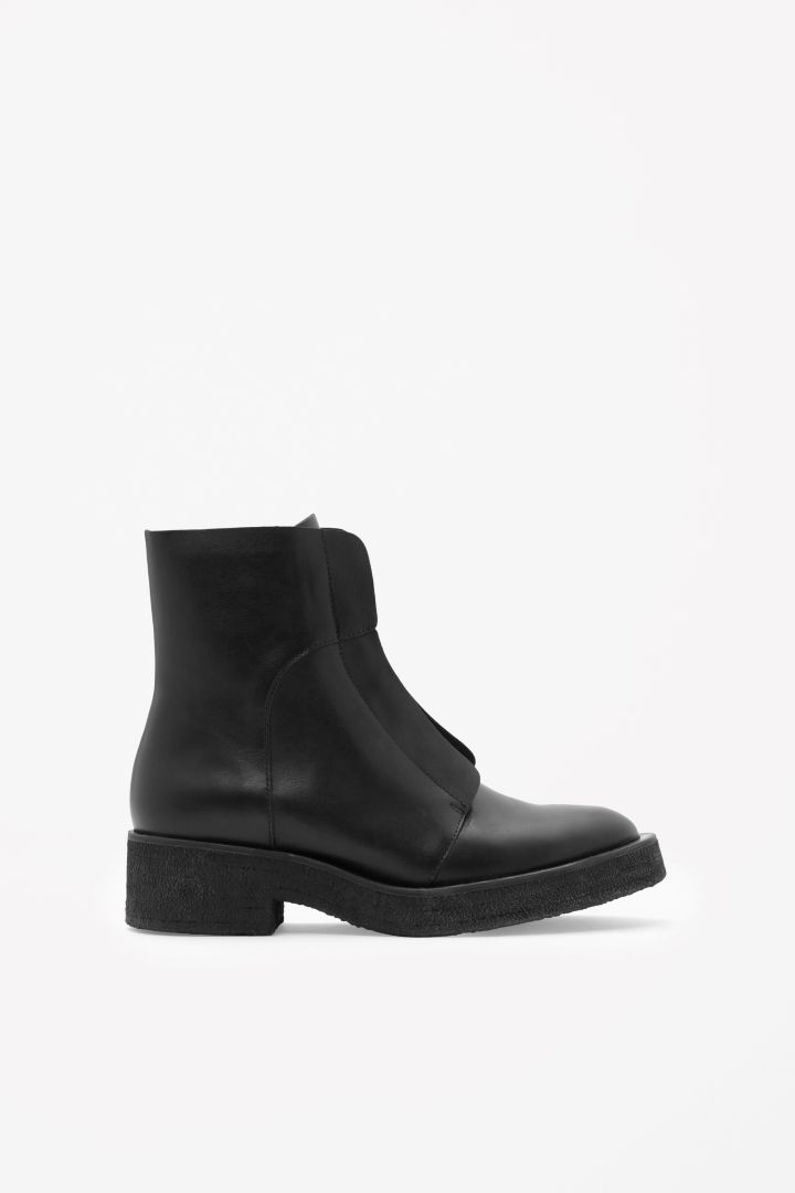 COS | Lace-up leather boots