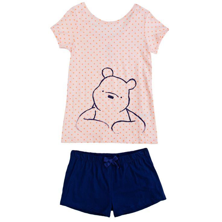 Winnie The Pooh short cotton pyjama
