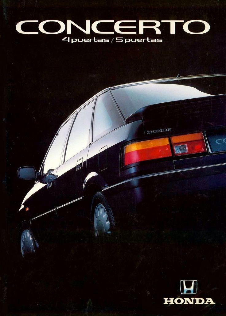 Honda Concerto Spain Brochure 1991