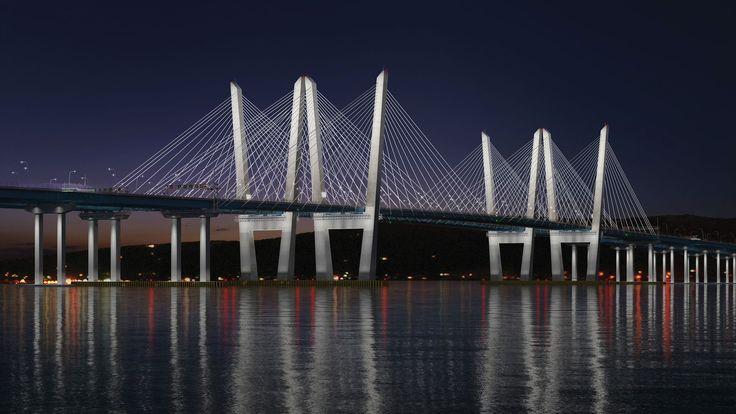 A mais nova ponte da cidade de Nova York, Tappan Zee, foi aberta ao público na noite da última sexta-feira (25). Ela será a mais longa do estado, com 5 km de comprimento, e substituirá a antiga Tappan Zee, que também cruzava o Rio Hudson, conectando os condados de Rockland e Westchester, construída em 1955.