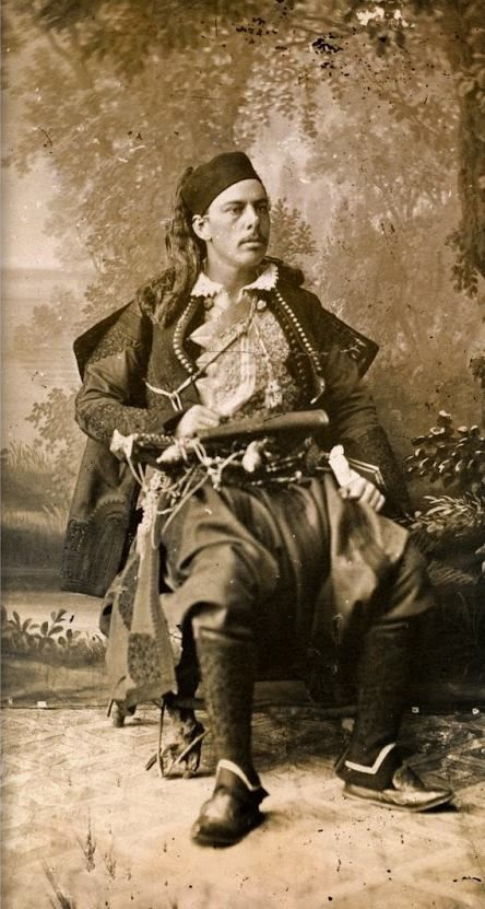 Major George Thomas Cavendish Paget in Albanian Costume