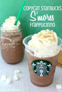 50 More Best Copycat Recipes From Top Restaurants - Copycat Starbucks S'mores Frappucinno - Awesome Recipe Knockoffs and Recipe Ideas from Chipotle Restaurant, Starbucks, Olive Garden, Cinabbon, Cracker Barrel, Taco Bell, Cheesecake Factory, KFC, Mc Donalds, Red Lobster, Panda Express http://diyjoy.com/best-copycat-restaurant-recipes