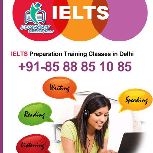Get best training for  International English Language Testing System (IELTS) . EDUFORN  runs short courses for IELTS and is  an excellent IELTS preparation centre in Delhi. Apply online now for enhancing all sections of IELTS exam.