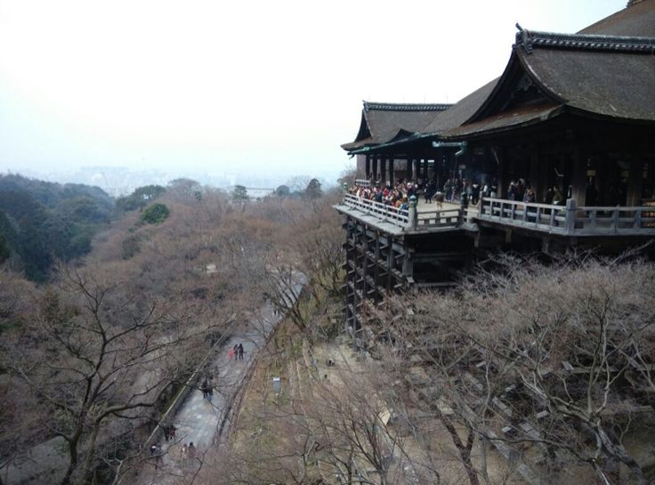 清水の舞台 (清水寺本堂) in 東山区, 京都府