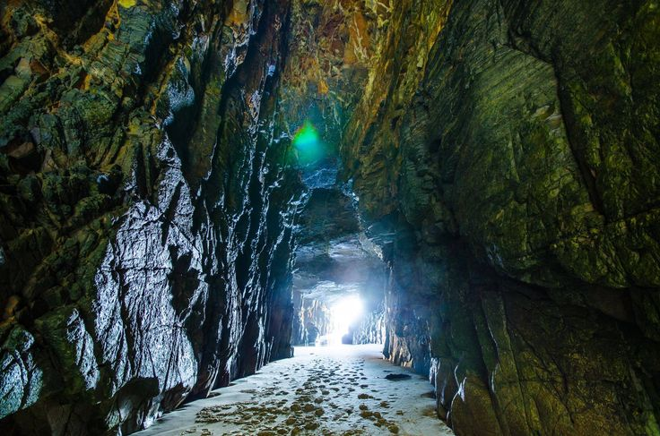 Remarkable cave, Port Arthur, Tasmania