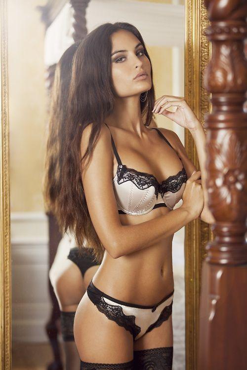 Hot | girl | sexy | body | lingerie | underwear | long | hair  | skin | pretty