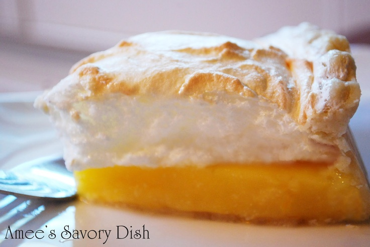 Orange Meringue Pie- Project Vintage Recipes August recipe