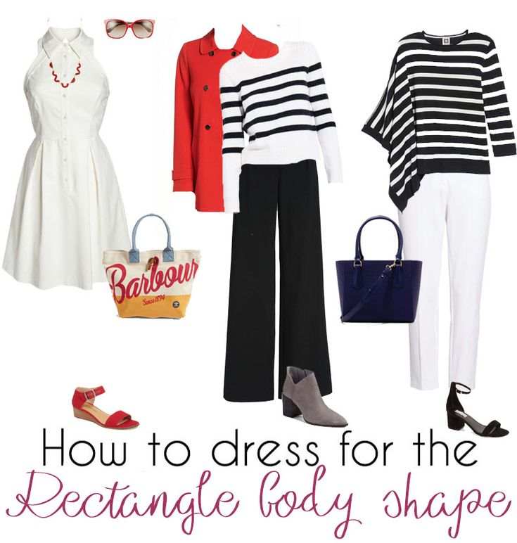 Stylish outfit ideas for the rectangle body shape | 40plusstyle.com